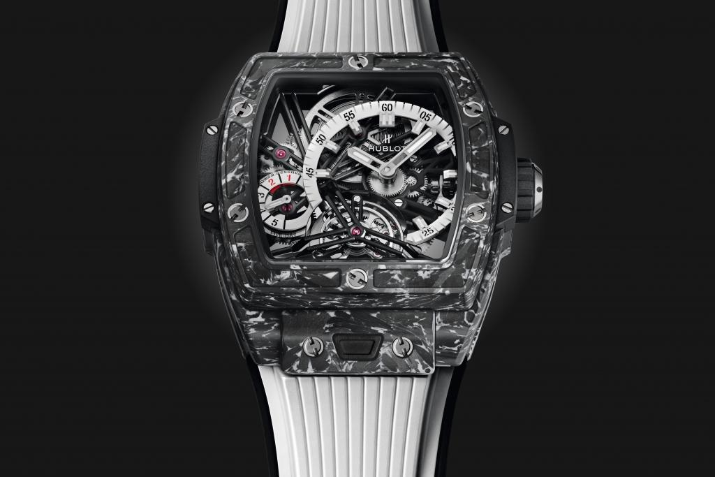 Đồng hồ Hublot Spirit of Big Bang Tourbillon 5-day Power Reserve Carbon White