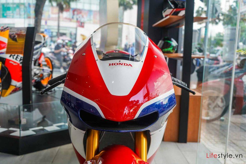 Ngắm siêu mô tô đường phố Honda RC213V-S ảnh