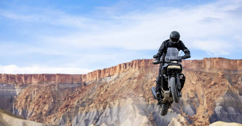 """""""Tân binh"""" Adventure của Harley-Davidson Pan America 1250 chuẩn bị chào sân đầu năm 2021"""
