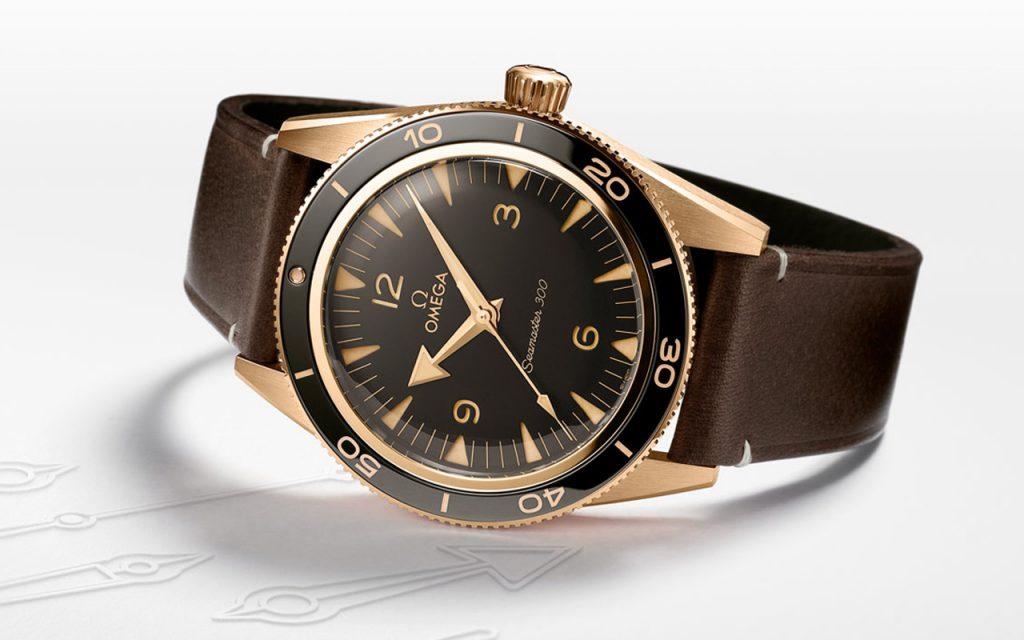 Sự trở lại của đồng hồ lặn - Omega Seamaster 300 Bronze Gold ảnh 6