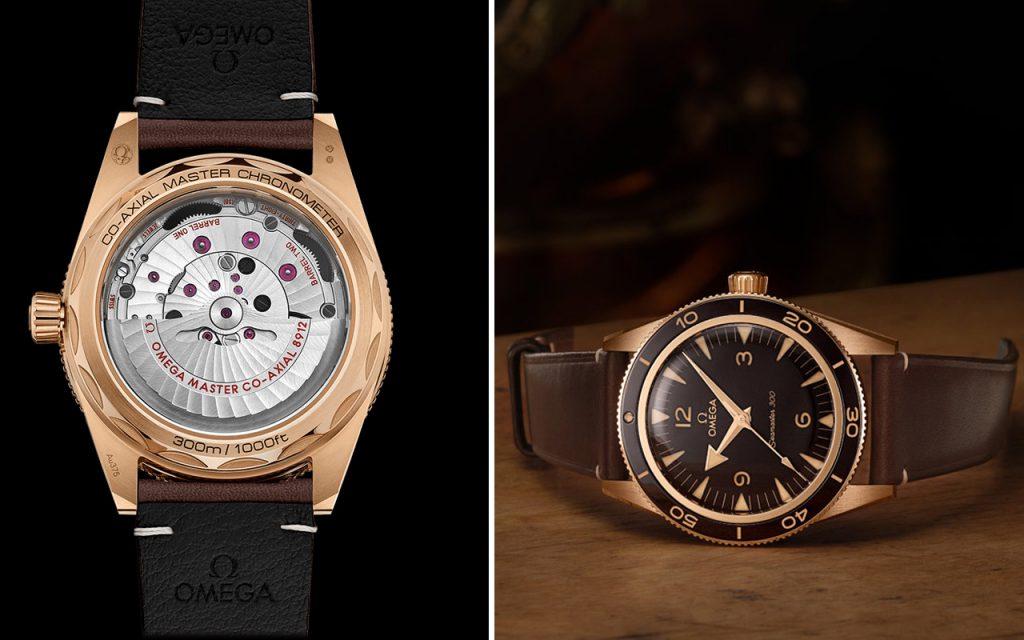 Sự trở lại của đồng hồ lặn - Omega Seamaster 300 Bronze Gold ảnh 12