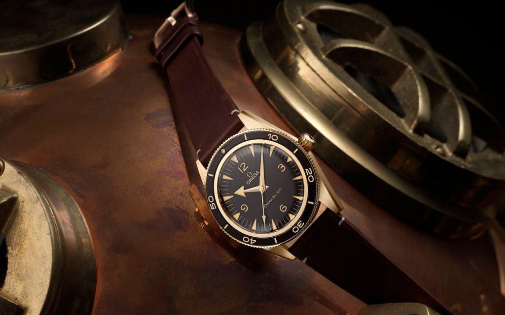 Sự trở lại của đồng hồ lặn - Omega Seamaster 300 Bronze Gold ảnh 13