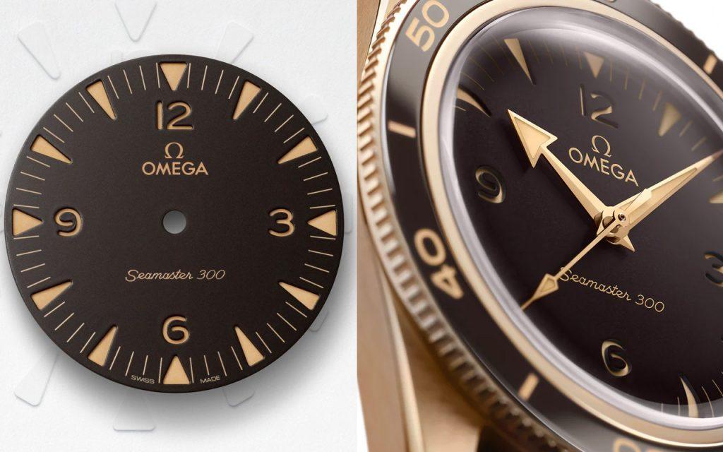Sự trở lại của đồng hồ lặn - Omega Seamaster 300 Bronze Gold ảnh 2