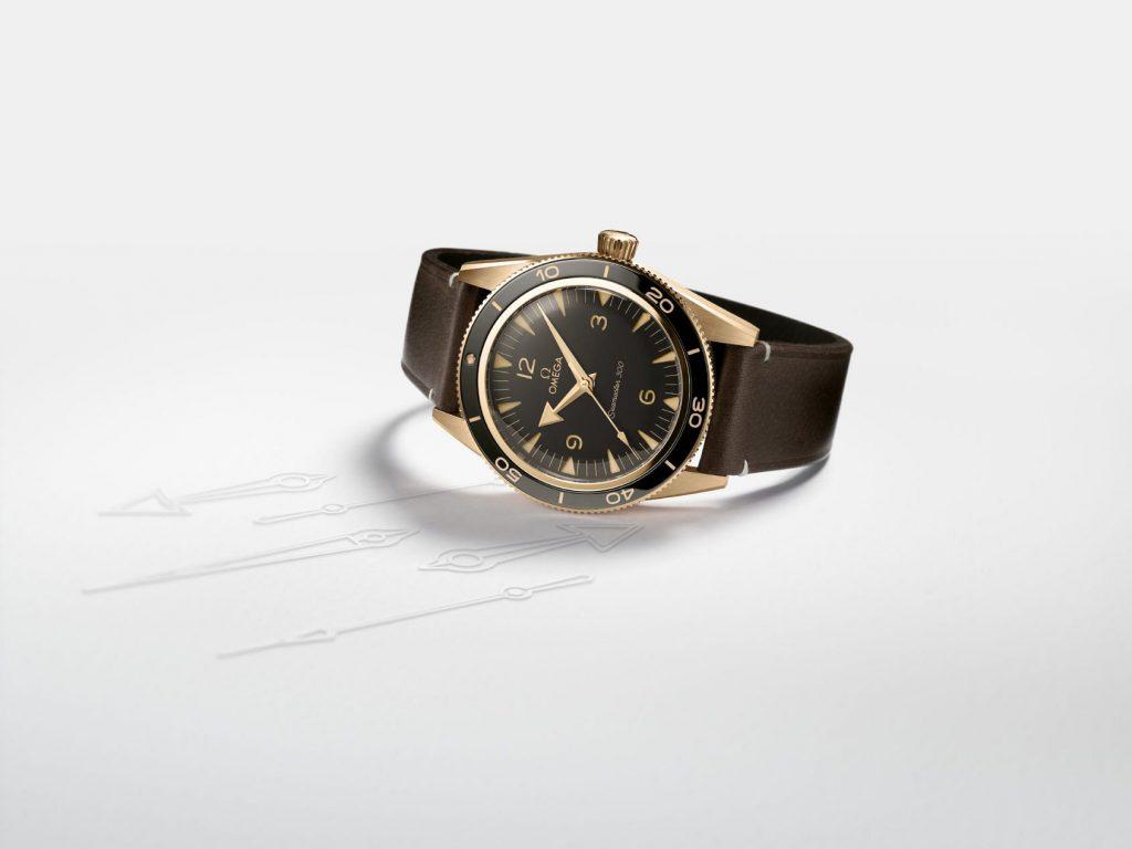 Sự trở lại của đồng hồ lặn - Omega Seamaster 300 Bronze Gold ảnh 10