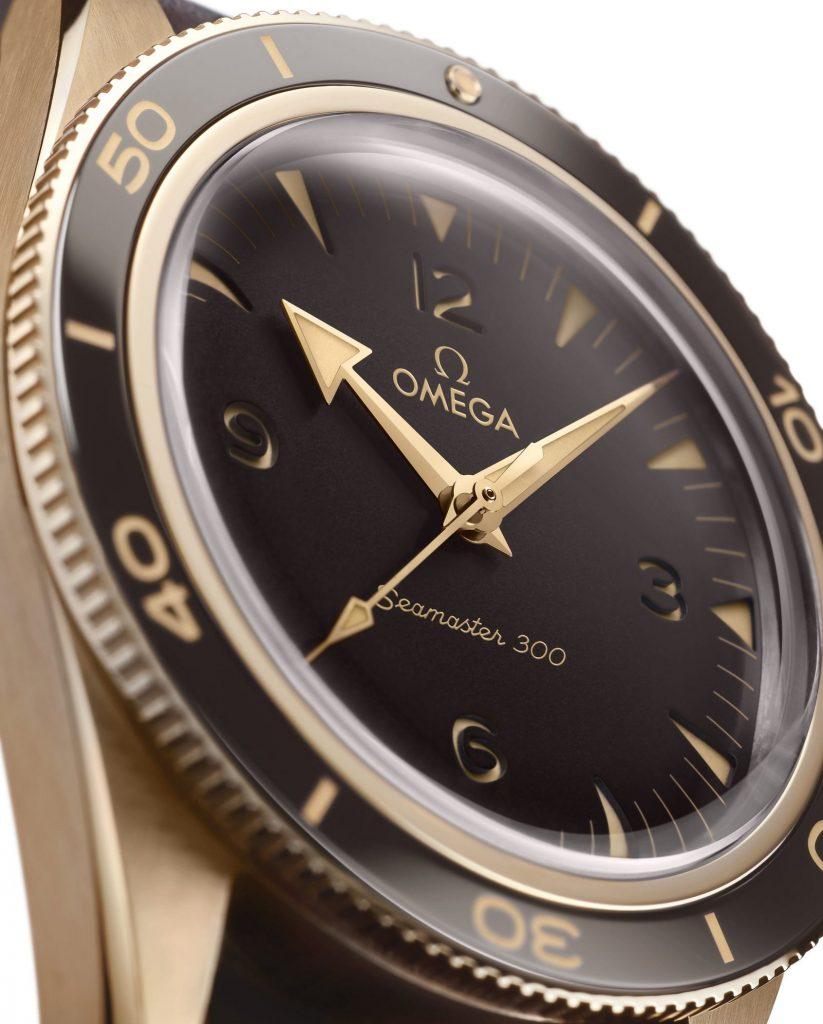 Sự trở lại của đồng hồ lặn - Omega Seamaster 300 Bronze Gold ảnh 5