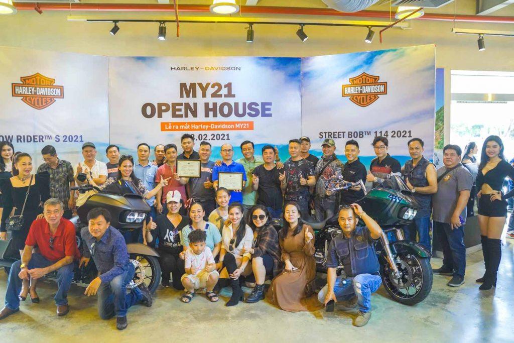 Harley-Davidson Việt Nam giới thiệu 4 mẫu xe mới, giá từ 578 triệu đồng