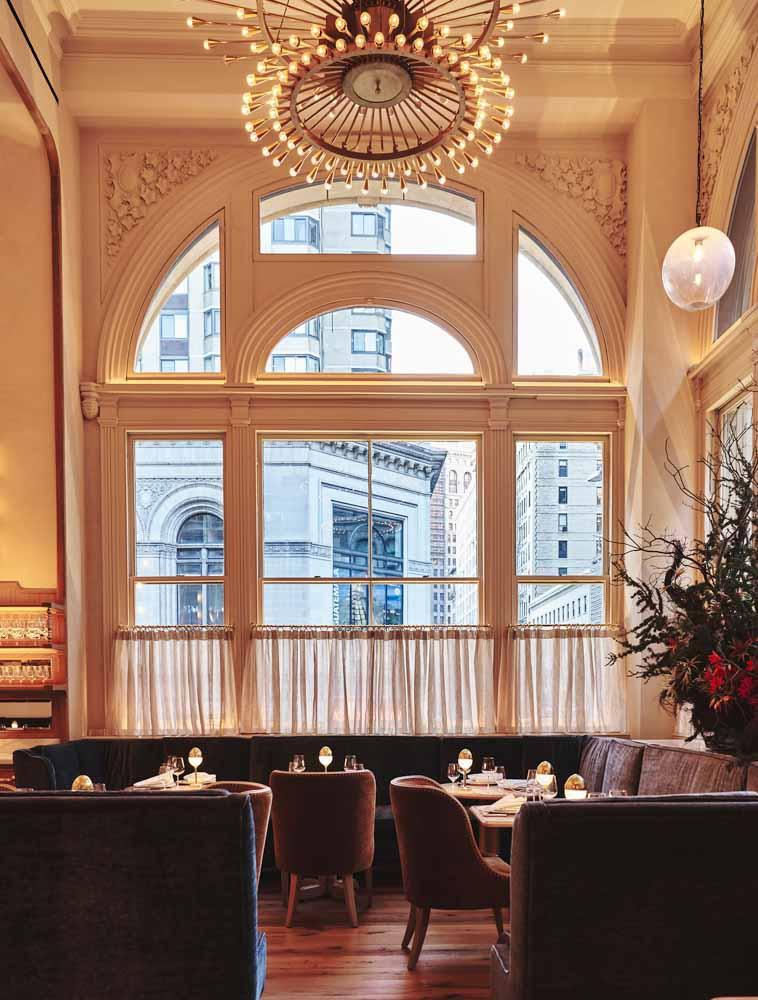 Nhà hàng tựa như tranh vẽ Veronika