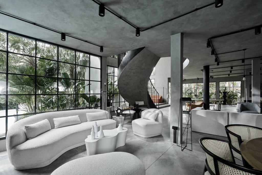 """Nhà hàng The Brix - Không gian """"ốc đảo"""" xanh độc đáo tại Sài Gòn ảnh 15"""