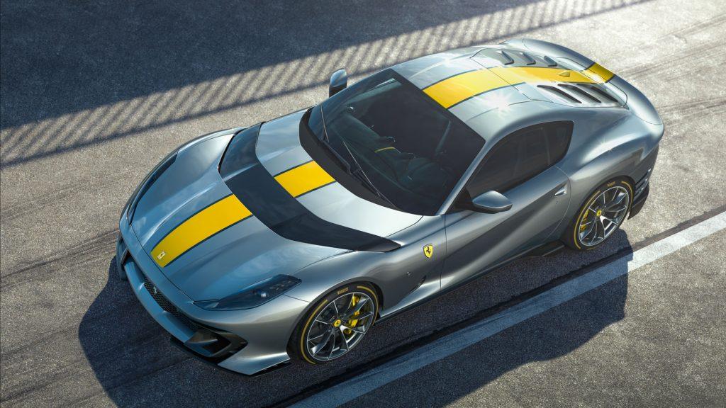 Đếm ngược thời khắc ra mắt Ferrari 812 Superfast phiên bản giới hạn động cơ V12 ảnh 1