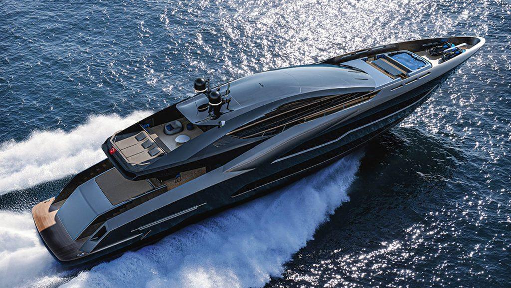 Siêu du thuyền BadGal thiết kế táo bạo và mạnh mẽ của Officina Armare