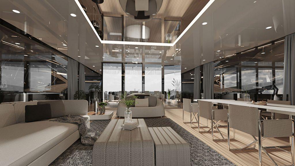 Siêu du thuyền BadGal thiết kế táo bạo và mạnh mẽ của Officina Armare ảnh 4