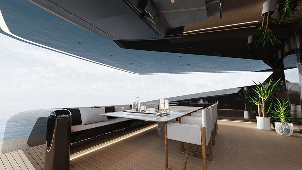 Siêu du thuyền BadGal thiết kế táo bạo và mạnh mẽ của Officina Armare ảnh 5