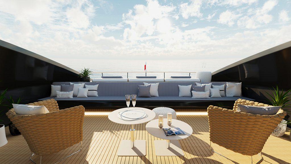 Siêu du thuyền BadGal thiết kế táo bạo và mạnh mẽ của Officina Armare ảnh 7