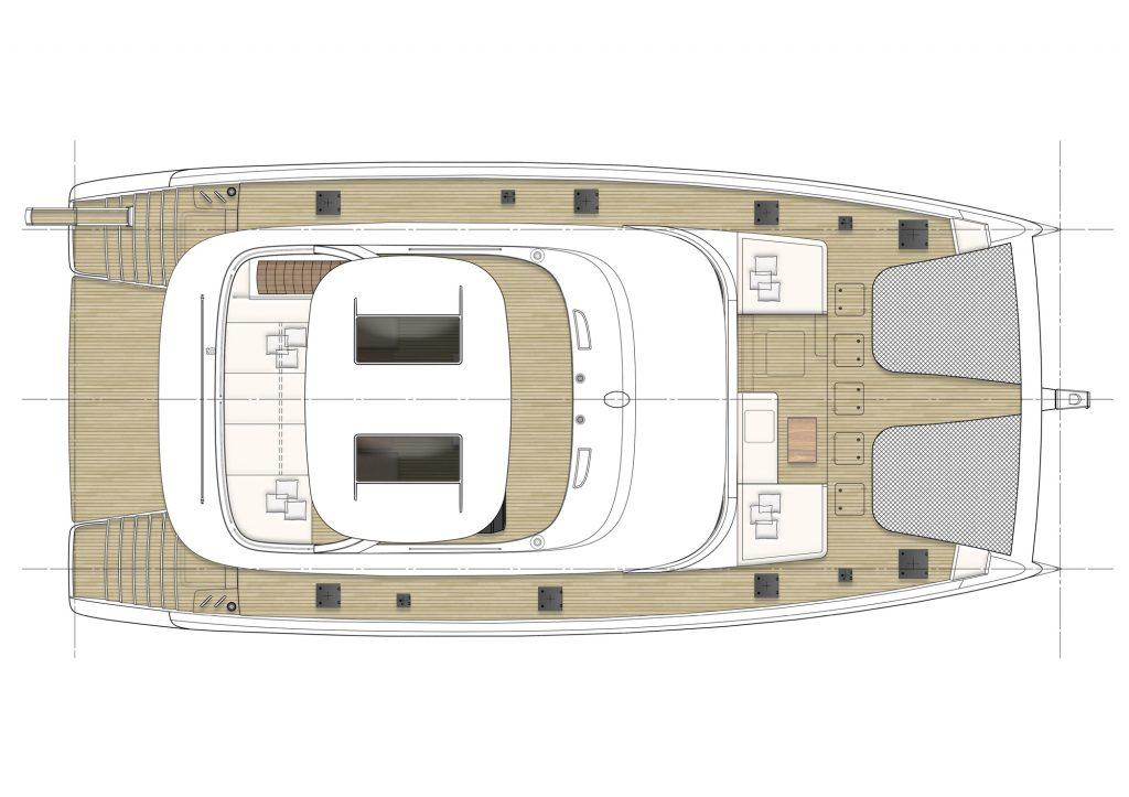 Du thuyền Fantastic Too 80 của Sunreef Yachts với thân Carbon