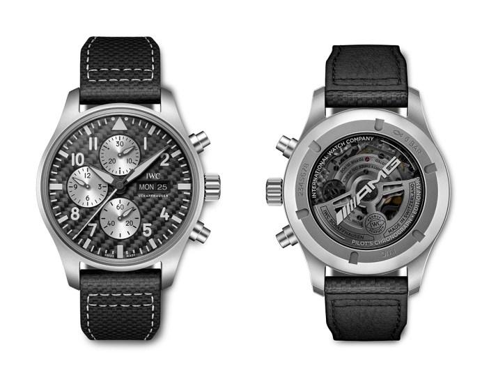 Đồng hồ IWC Pilot's Watch Chronograph Edition AMG - Sự kết hợp giữa Mercedes AMG và IWC ảnh 2