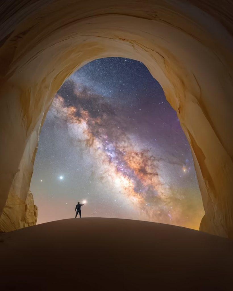 Những bức ảnh chụp dải Milky Way ấn tượng nhất ảnh 2