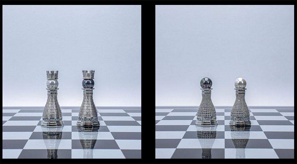 Bộ cờ vua Pearl Royale Limited-Edition ảnh 1
