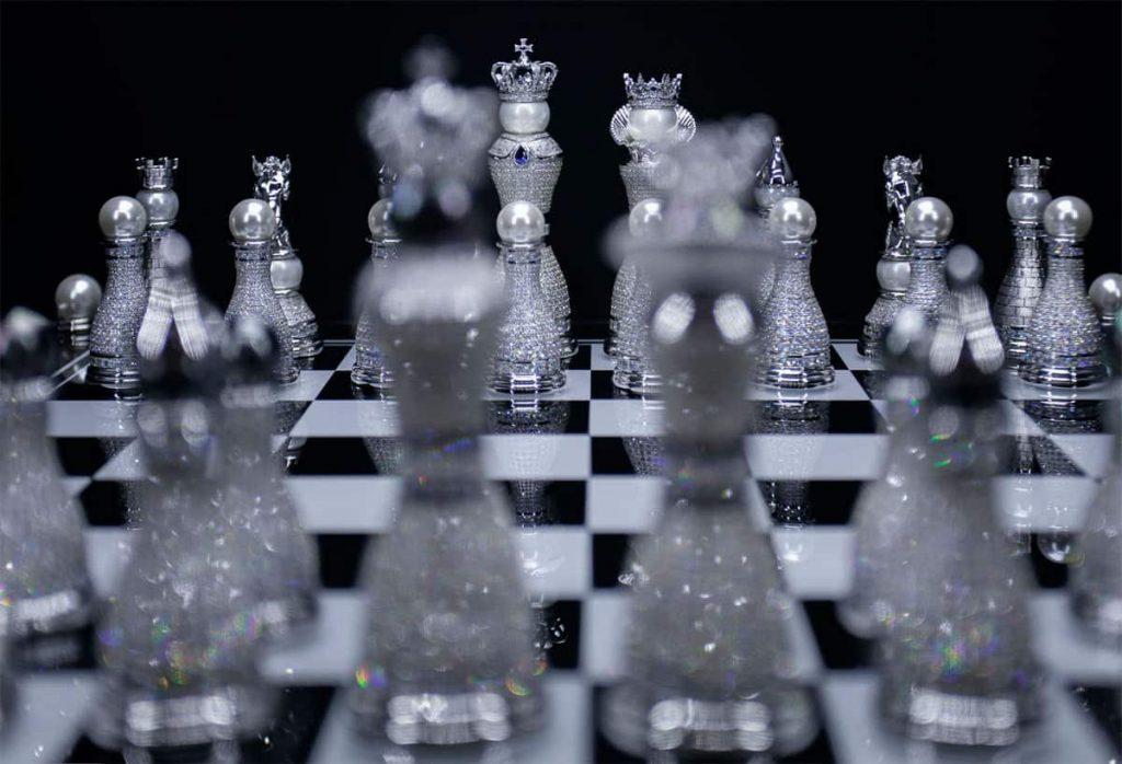 Bộ cờ vua Pearl Royale Limited-Edition ảnh 6