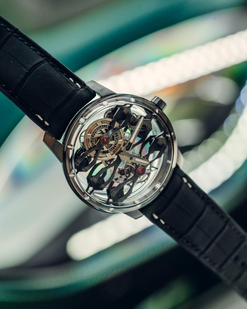 Đồng hồ Aston Martin - Girard-Perregaux phiên bản giới hạn, giá gần 3,5 tỷ đồng ảnh 1