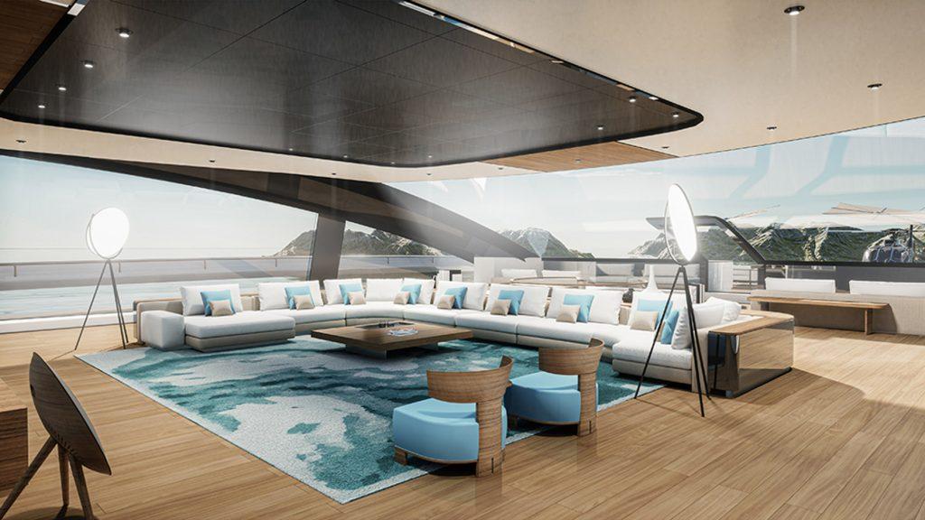 Project Sunrise - Du thuyền tiện nghi 5 sao, dài hơn 135m ảnh 1