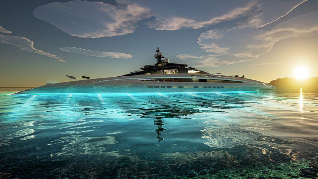 Project Sunrise - Du thuyền tiện nghi 5 sao, dài hơn 135m ảnh 2