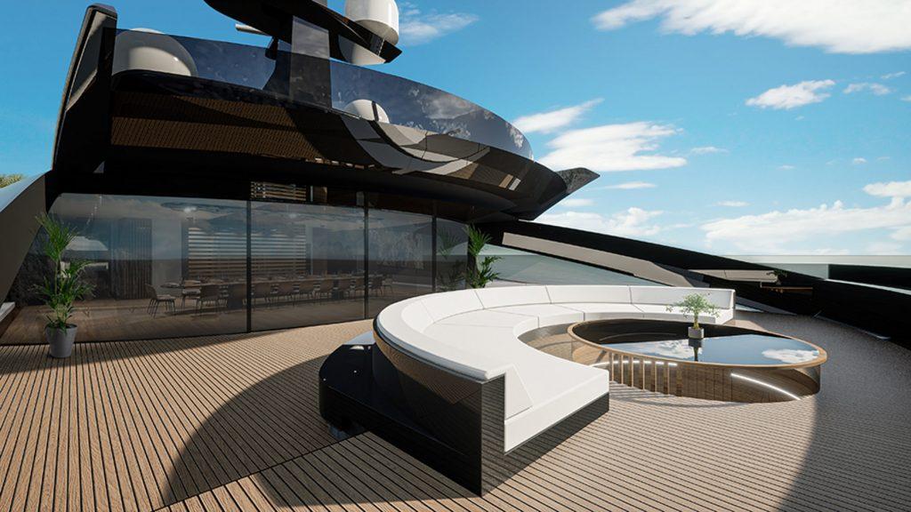 Project Sunrise - Du thuyền tiện nghi 5 sao, dài hơn 135m ảnh 5