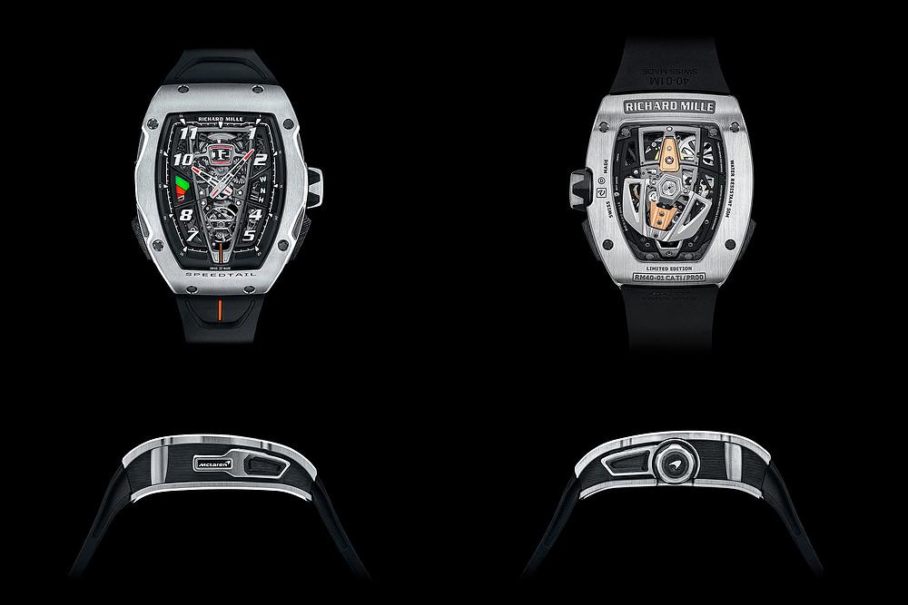 Richard Mille RM 40-01 Automatic Tourbillon - Chiếc đồng hồ lấy cảm hứng từ siêu xe McLaren ảnh 1
