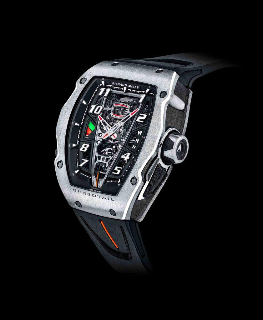 Richard Mille RM 40-01 Automatic Tourbillon - Chiếc đồng hồ lấy cảm hứng từ siêu xe McLaren