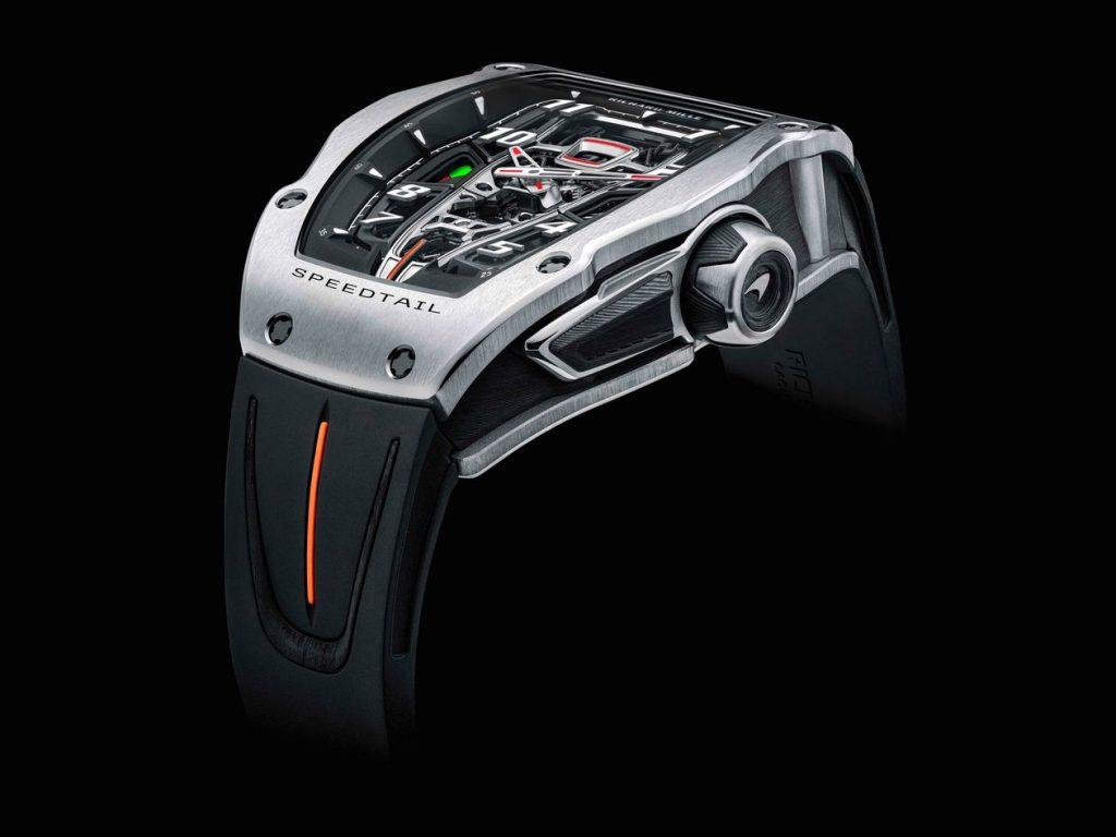Richard Mille RM 40-01 Automatic Tourbillon - Chiếc đồng hồ lấy cảm hứng từ siêu xe McLaren ảnh 2