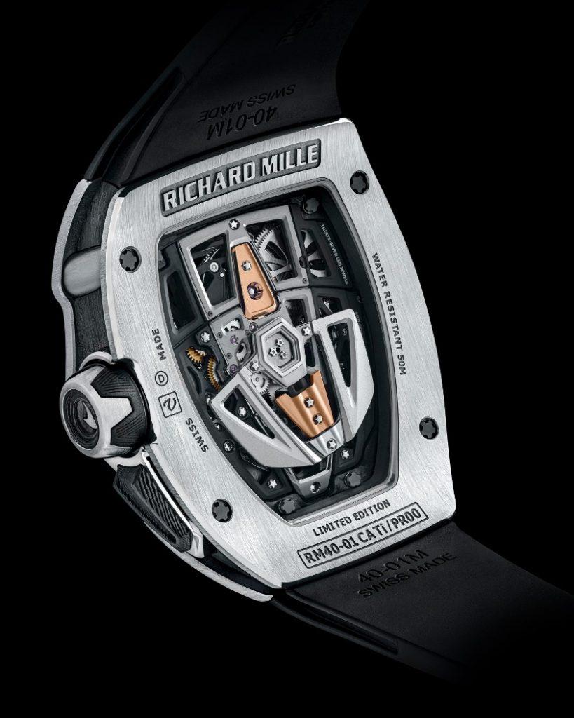 Richard Mille RM 40-01 Automatic Tourbillon - Chiếc đồng hồ lấy cảm hứng từ siêu xe McLaren ảnh 7