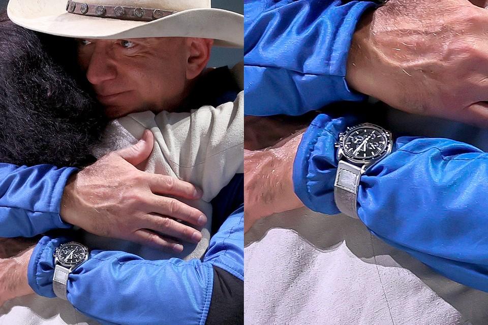 Tại sao Jeff Bezos đeo chiếc đồng hồ Omega Speedmaster Moonwatch khi bay vào vũ trụ ảnh 2