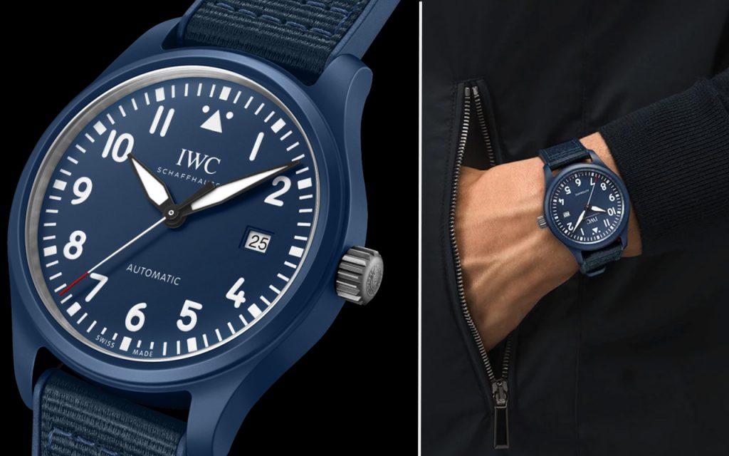 IWC ra mắt đồng hồ Pilots gốm màu xanh lam đầu tiên cho Laureus Sport for Good ảnh 3